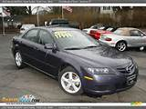 2007 Mazda Mazda6 I Sport Sedan Violet Gray Black Photo 3