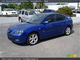 2007 Mazda Mazda3 S Sport Sedan In Aurora Blue Mica Click To See