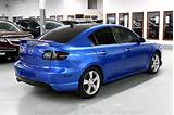 Image Of A Blue 2006 Mazda 3 Gt