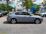 2005 Mazda3 S Sedan Titanium Gray Metallic Blackred Photo 1