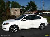 2004 Mazda Mazda3 I Sedan Rally White Color Beige Interior Car