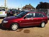 Used Mazda 323 2003 Petrol 1 6 Gxi 5dr Ac Hatchback Red With Central