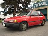 Sfm 2008 S 1993 Mazda 323 Red Mazda 323 Hatchback