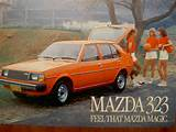 Small Amount Of Writing On Back Cover 1980 Mazda 323 Wagon 10