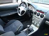 Black Interior 2005 Mazda Mazda6 S Sport Hatchback Photo 41480075