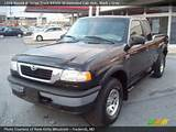 1998 Mazda B Series Truck B4000 Se Extended Cab 4x4 In Black Click To