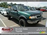 2000 Mazda B Series Truck B4000 Se Extended Cab 4x4 With Gray Interior