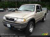 1999 Mazda B Series Truck B4000 Se Extended Cab 4x4 With Tan Interior