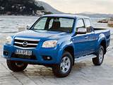 Mazda Bt 50 2009 Front Angle View