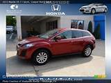 2011 Mazda Cx 7 I Sport In Copper Red Click To See Large Photo