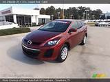 2011 Mazda Cx 7 I Sv In Copper Red Click To See Large Photo