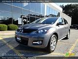 2009 Mazda Cx 7 Grand Touring Awd In Galaxy Gray Mica Click To See