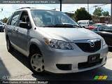 2005 Mazda Mpv Lx In Sunlight Silver Metallic Click To See Large