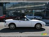 1993 Mazda Mx 5 Miata Roadster In Crystal White Click To See Large