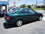 Mazda Protege 2000 Green Sedan Es 4 Cylinders 5 Speed With Overdrive