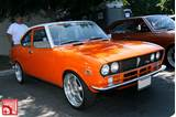 The Mazda Stripes And Matching Vinyl Roof Give This Rx 2 A