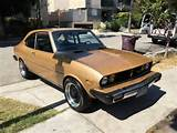 1974 Mazda Rx2 Coupe Gold This The Japanese Coupe Offered By Mazda As