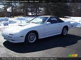 1989 Mazda Rx 7 Gxl Convertible In White Click To See Large Photo