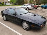 1987 Mazda Rx 7 Turbo Coupe 2 Door 1 3l Tii New Engine Backseat 2 2