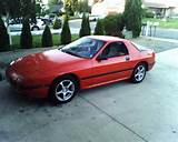 1986 Mazda Rx 7 Red Its A Work In Progress