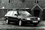 Audi Brand Group Audi Post War Era 100 From 1991 C4 Type 4a