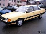 1986 Audi 100 For 1 Hand New T V Limousine Used Vehicle