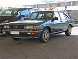 Audi 100 C2 And 200