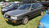 Third Audi 100 C3 Generation The Audi 200 Was The More Luxury And More