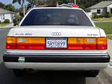 Attention Audi Enthisiasts Up For Sale Is Our 1991 Audi 200 Turbo