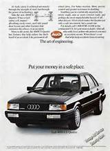 Audi 4000 Cs Quattro Photo Engineering Theme 1985