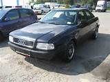 The Same Platform And Many Parts Used Audi 80 1993 Audi 80 Pictures