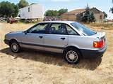 The Audi 80 Was The Cheaper Of The Audi 80