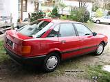 1987 80 Pensioners Hand 1987 Audi 80 Pensioners Hand Limousine