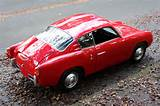 1958 Fiat Abarth 750 Zagato Double Bubble