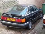 The Predecessor Model The Audi 90 Was A Luxuriously Equipped Audi