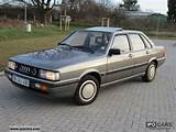 1986 Audi 90 Type 81 1 5 Cylinder Hand 127 Tkm Limousine