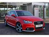 Audi A1 2 0 Tdi Contrast Edition Hatchback Diesel Misano Red Pearl