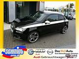 2011 Audi A1 2 0 Tdi Ambition Black Petition White Car Photo And
