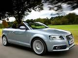 Audi A3 1 6 Tdi S Line Cabriolet Uk Spec 2008 2010 Wallpaper