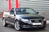 Audi A3 1 6 Tdi Sport Convertible Diesel Brilliant Black