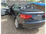 Audi A3 Cabriolet Cabriolet 1 6 Tdi 105 Dpf S Line Noir Occasion
