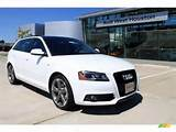 Ibis White Ice Silver 2011 Audi A3 2 0t Premium With Seats