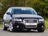 Used Audi A3 2 0 T Fsi Quattro Hatchback Black 2008 Petrol For Sale In
