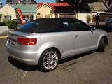 2008 Audi A3 2 0t Fsi Cabriolet For Sale In Western Cape