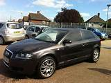 Used Audi A3 2007 Model 2 0 Tdi 3dr Diesel Hatchback Grey For Sale In