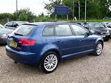 Used Audi A3 2 0 Tdi Se 5 Door Hatchback Blue 2007 Diesel For Sale In