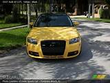 2007 Audi A3 2 0t In Yellow Click To See Large Photo