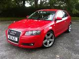 Used 2005 Audi A3 Hatchback Red Edition 1 6 3dr Petrol For Sale In