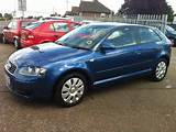 Used Audi A3 2005 Petrol 1 6 Special Edition 3dr Hatchback Blue Manual