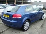 Used 2004 Audi A3 Hatchback Blue Edition 1 6 Special 3dr Petrol For